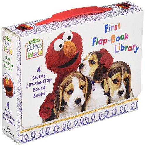 Elmo's World: Sesame Street: First Flap-book Library (Sesame Street Elmo's World)