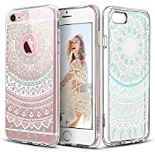 Carcasa iPhone 6 Plus / 6s Plus, ESR iPhone 6s Plus Funda / iPhone 6 Plus Funda Parachoques Diseño Exótico Patrón Funda Cover Carcasa Para iPhone 6 Plus / 6s Plus + La Cuerda de Seguridad (Casa de la Moneda de la mandala)