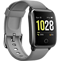 Vigorun Smartwatch Fitness-Tracker, Fitness Armband mit Pulsmesser Kalorienzähler-Tracker, Aktivitätstracker IP68…