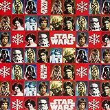"""Hallmark 4m """"Classic Star Wars"""" Rolle Geschenkpapier"""