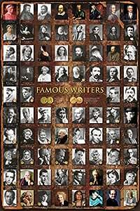 Anonymous – Les écrivains célèbres Poster (60,96 x 91,44 cm)