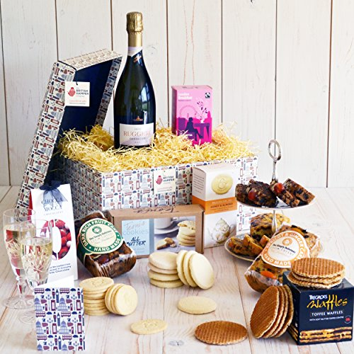 Luxury Afternoon Tea Hamper - Free Express UK Delivery - Gift Card Included