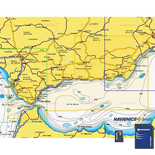 Navionics Plus Small MicroSD/SD Águilas - Cádiz
