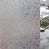 Hifina Fensterfolie Sichtschutzfolie / Fenster Folie Selbstklebend / Fensterfolie Sichtschutz (45 * 200cm)