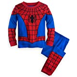 Disney Store Deluxe Spiderman Spider Man PJ Pijamas Niños Niños Niños