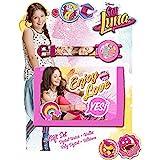 A2Z 4 Kids® Kids Soy Luna Set composto da Orologio e Portafoglio, colore: rosa
