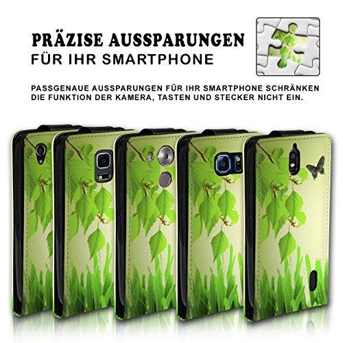 Vertical Flip Style Housse Case Étui Coque Motif cartes étui support pour Apple iPhone 5/5S–Variante ver35 Design 1