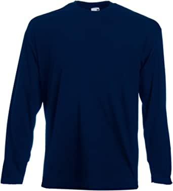 Fruit of the Loom – Valueweight Long Sleeve T-Shirt