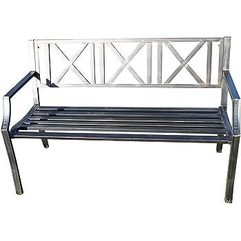 Panchine In Ghisa Da Giardino.Panchina Da Giardino In Metallo Con Ghisa Moderno Design Da