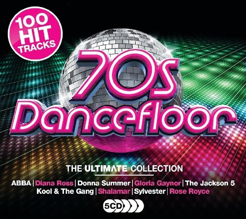 Ultimate 70s Dancefloor - 100 Hits - 5 CD Set.