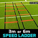 6m Speed Ladder [Net World Sports] - For Agility Training & Footwork Drills