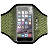 Brassard iphone 6, Spigen Armband sportif [Compatible iPhone 6/6s] Sports Sweatproof Etui Armband Case pour le Jogging/ Gym/ Sport, Confortable avec sangle réglable (SGP11198)