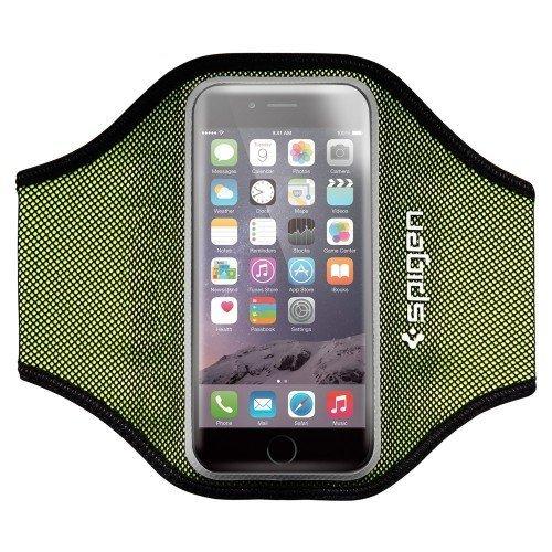 Handy Armband, Spigen Velo [Passt Perfekt] [Geringes Gewicht] Sportarmband Universal Sport Armbinde Armtasche Jogging / Gymnastik / Laufen mit Gurt für das iPhone 7 / SE / 5S / 5 / 6 / 6S / Galaxy S7 Armband