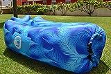 Aireloon Tumbona Inflable con malla interior para sujeción lumbar,  sofá...