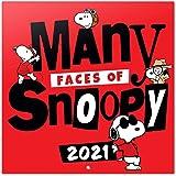 Grupo Erik Calendario 2021 da Muro Snoopy, calendario peanuts 2021, calendario snoopy 2021, 12 mesi, include poster regalo, 3