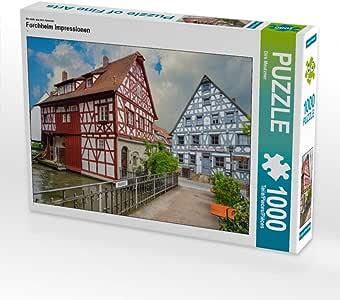 CALVENDO Puzzle Forchheim Impressionen 1000 Teile Lege-Größe 64 x 48 cm Foto-Puzzle Bild von Dirk Meutzner