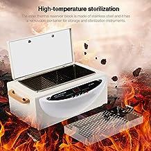 GOTOTOP Actualizado Inteligente Alta Temperatura Esterilizador para Toalla Máquina de Esterilización de Herramientas Dentales y de