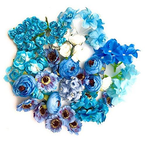 Satyam Kraft Artificial flower Bouquet making,decoration For Wedding Party Decoration DIY Materials...