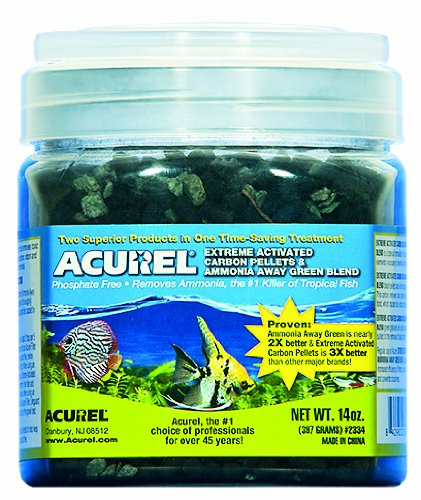 acurel-llc-extreme-carbone-attivo-pellet-e-verde-misto-acquario-e-filtro-per-laghetto-di-3969-gram