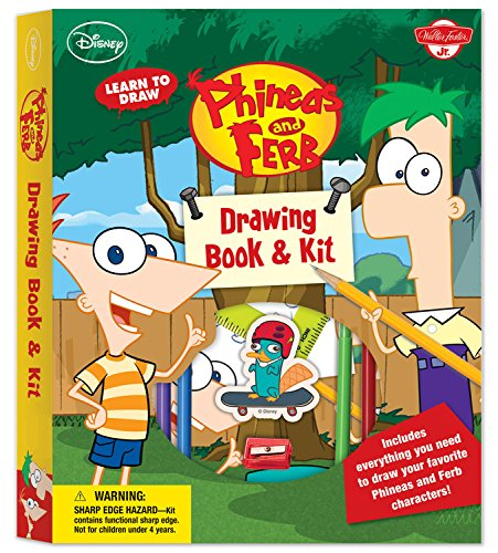 Learn to Draw Disney's Phineas and Ferb Drawing Book & Kit
