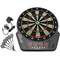 Forever Speed Diana electrónica Electrónica Dartboard Deportes Electrónicos Juego Monitor LCD con Cubierta Protectora del Chasis para 1-16 Jugadores