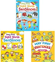 Very First Sight Words Sentences Level - 2 + Very First Sight Words Sentences Level - 1 + Very First Sentences