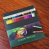 72Buntstifte, Sets Bleistift hoher Qualität Set sortiert Farben Bleistifte für Bücher Zeichnen Schreiben Skizzieren