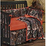 HiEnd Accents Oak Camo Crib Set by HiEnd Accents