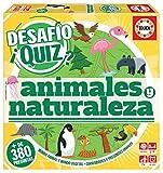 Educa Borrás- Desafio Quiz-Animales Y Naturaleza, Color Variado (18219)