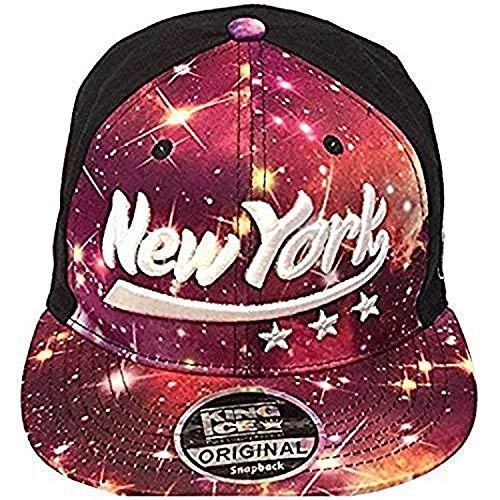 King Ice New York Galaxie Era Casquettes Snapback Casquettes De Baseball  Pour Hommes Femmes Hip Hop 112d9e75d00d