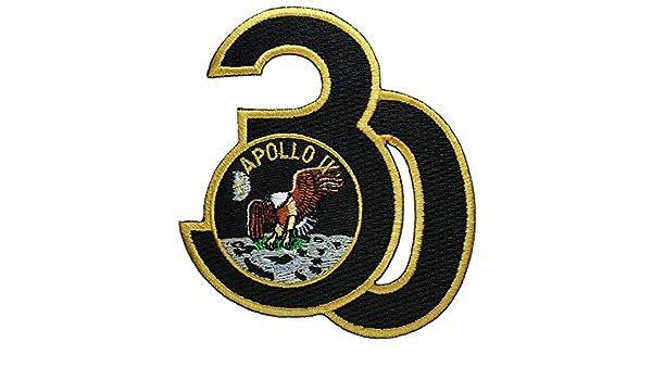 nasa ,Apollo 11-30th Anniversary 9,3cm, PATCH,TOPPA RICAMATA TERMOADESIVA