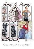 Amy und Pamy Nähanleitung mit Schnittmuster für Jerseykleid in 3 Längen [Download]