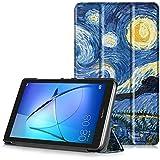 HUAWEI MediaPad T3 7 Funda - Carcasa Ultra Delgado y Ligero con Cubierta de Soporte para Huawei Mediapad T3 7 - Tablet de 7 Pulgadas IPS, Cielo Estrellado