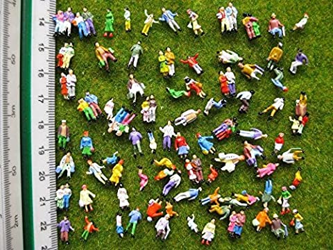 P150W Neu 100 × verschiedene Figuren Spur N 11mm