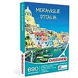 EMOZIONE3 - Cofanetto Regalo - MERAVIGLIE D'ITALIA - 690 soggiorni in hotel 3 o 4 stelle in borghi e città d'arte italiane