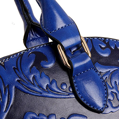 MEI Ms. Umhängetasche Messenger Tasche Handschalentasche Blue