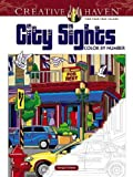 Creative Haven City Sights Color By Number (Adult Coloring)