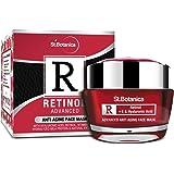 StBotanica Retinol Advanced Anti Aging Face Mask, 50g - With Retinol, Hyaluronic Acid, Vitamin C & Botanical Extracts