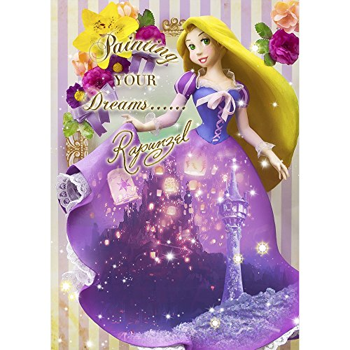 nzel Kleid Theater 3D Linsenraster-Disney 3D Postkarte ()
