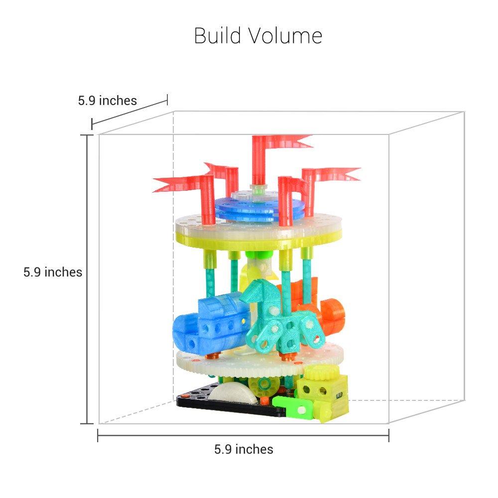 XYZ Printing Impresora 3D da Vinci Jr. 1.0 W (totalmente ensamblada), inalámbrica
