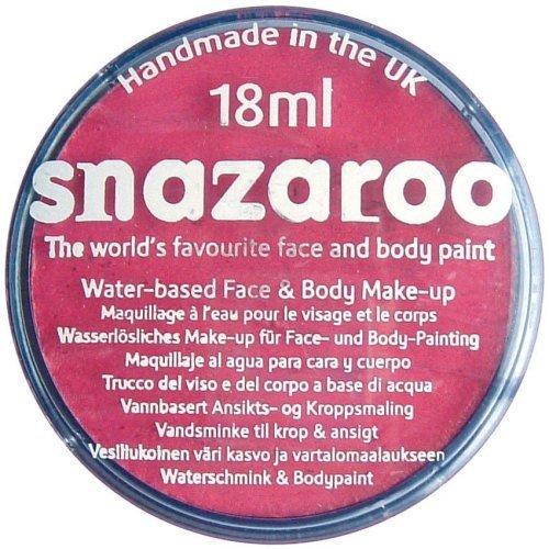 Fuchsia Pink 18ml Snazaroo Face Paint Tub