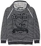 NAME IT Jungen Pullover NKMJANUS LS Knit W Hood, Mehrfarbig (Dark Sapphire), 164 (Herstellergröße: 158-164)
