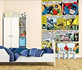 1 Wall W2PL-BATMAN-006 Batman Comic Wall Mural/Fototapete