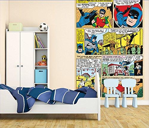 1Wall W2PL-BATMAN-006 Batman Comic Wall Mural/Fototapete
