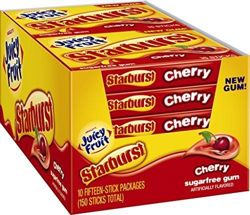 juicy-fruit-starburst-gum-cherry-sugar-free-1428-ounce-pack-of-10-by-juicy-fruit
