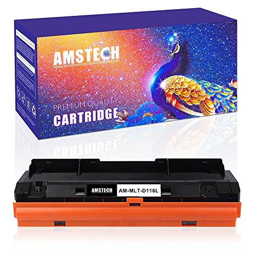 Amstech Kompatibel Toner Cartridge für Samsung MLT-D116L MLT-D116S 116L für Samsung Xpress M2675fn Xpress M2885fw M2835dw Toner Samsung M2675fn MLT D116L ELS Samsung Druckerpatronen Schwarz