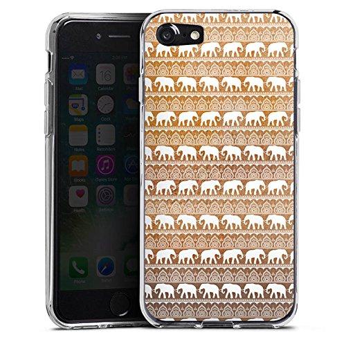 Apple iPhone X Silikon Hülle Case Schutzhülle Elefant Sommer Indien Silikon Case transparent