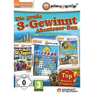 Die große 3-Gewinnt Abenteuer-Box