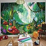Wandbild Benutzerdefinierte 3D-Wandbilder, Cartoon Schönen Traum Nachthimmel Tapete, Wohnzimmer Sofa Tv Hintergrund Kinder Schlafzimmer, 550X250 Cm