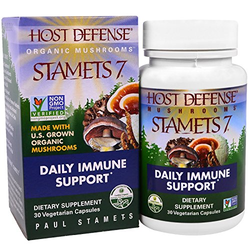 Host Defense??Stamets 7??Capsules, Daily Immune Support, 30 count by Host  Defense